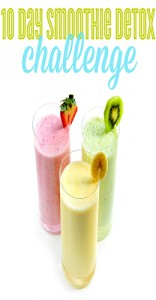 Join the 10 Day Smoothie Detox Challenge with Saving Dinner!