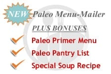 Introducing NEW Paleo Menu-Mailer, first new MM in 7 YEARS!