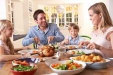 Making dinner time family time