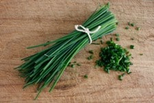 Fresh Chives,High fives for fresh chives, herbs