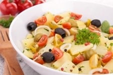 potato salad, healthier options for potato salad,
