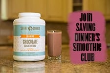 Join Saving Dinner's Smoothie Club
