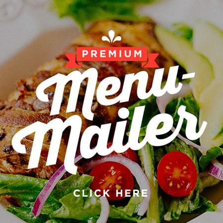 Premium Menu-Mailer