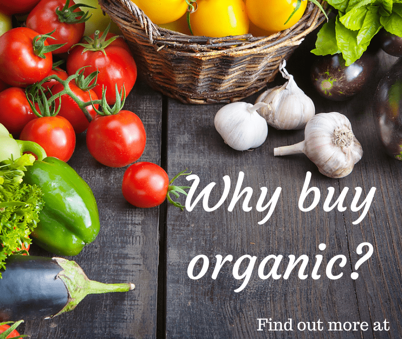 Why you should try to use organic food in your recipes