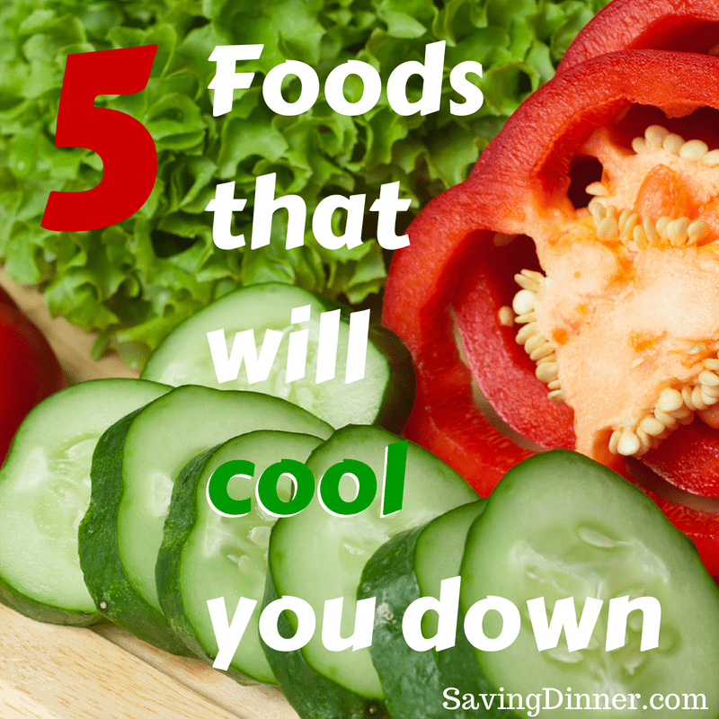5 Foods that will cool you down