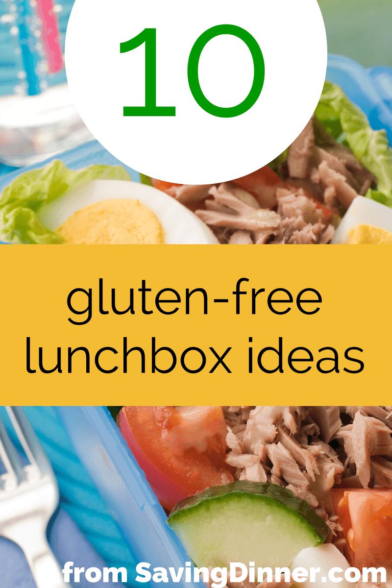 10 gluten-free lunchbox ideas that kids will love
