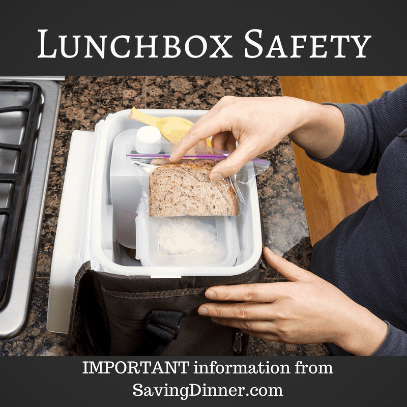 Lunchbox Safety – How not to poison your children or yourself at lunchtime