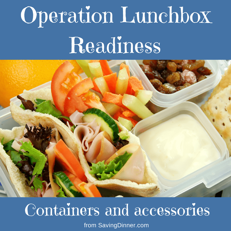 Back to School : Operation Lunchbox!