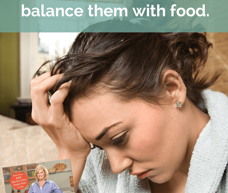 Are your hormones raging out of control? Learn how to balance them with food.