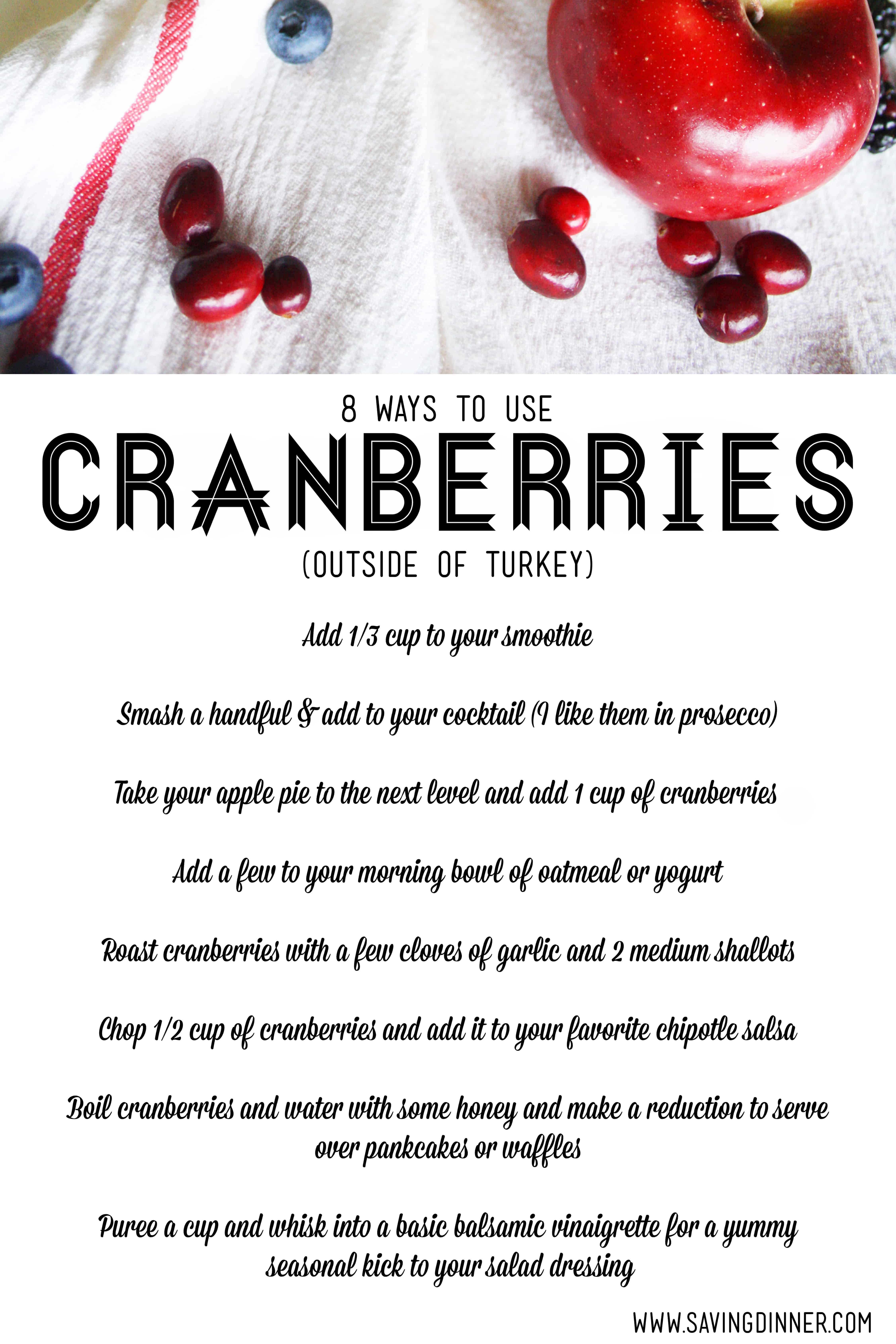 8 surprising uses for cranberries