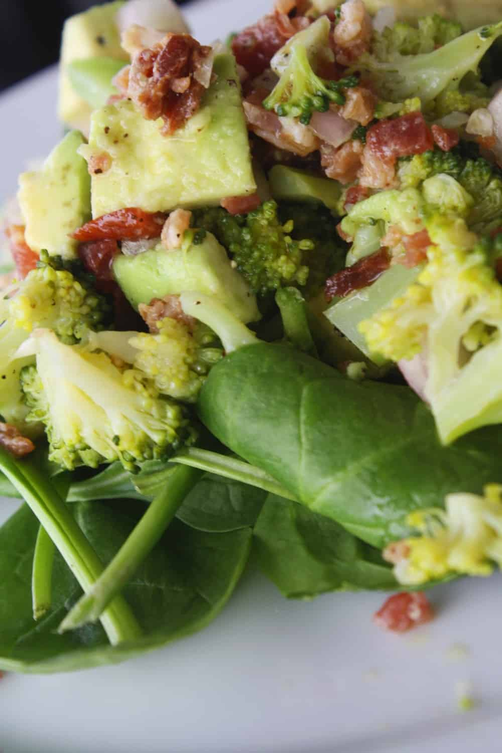 Warm Bacon and Broccoli Salad