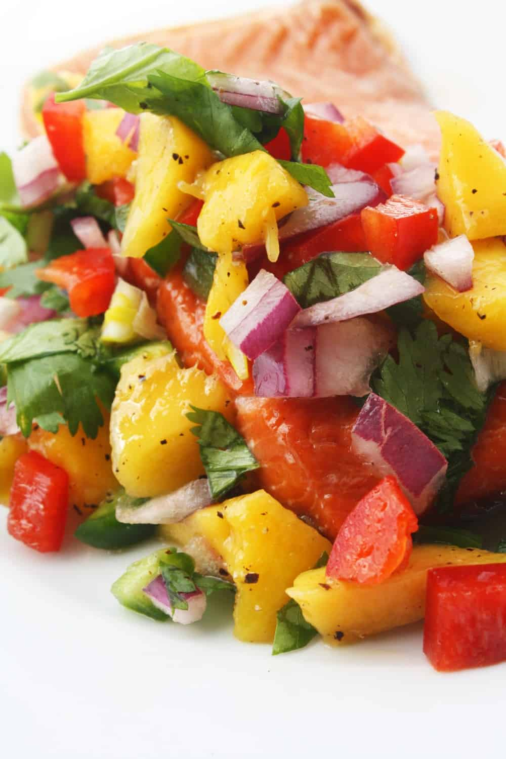 Today's new recipe, Grilled Salmon with Mango Salsa, comes from our ...