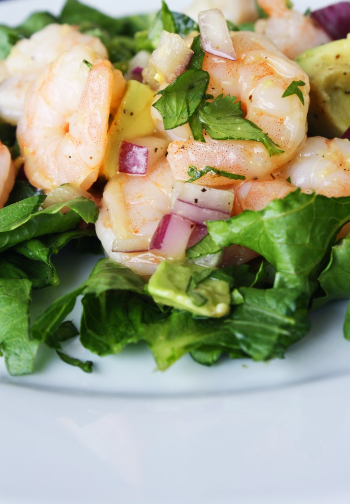 Orange Jalapeno Shrimp Salad
