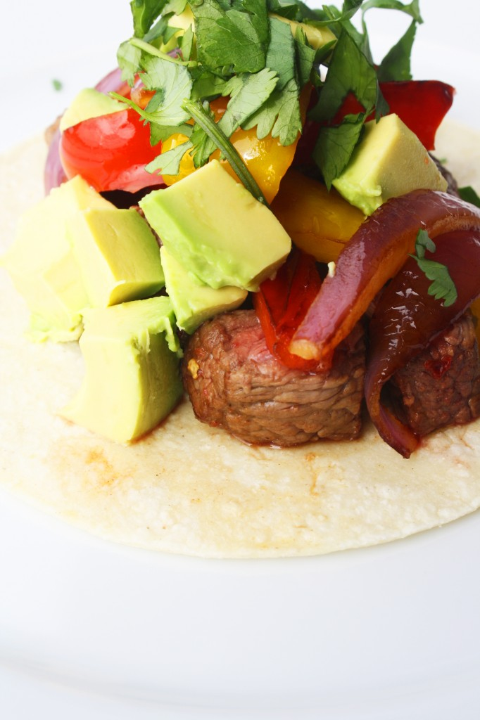 Lime and Chili Grilled Steak Tacos