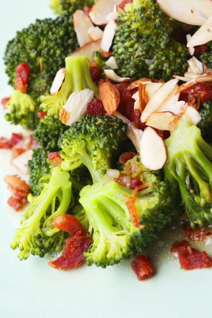 Bacon and Almond Broccoli Salad