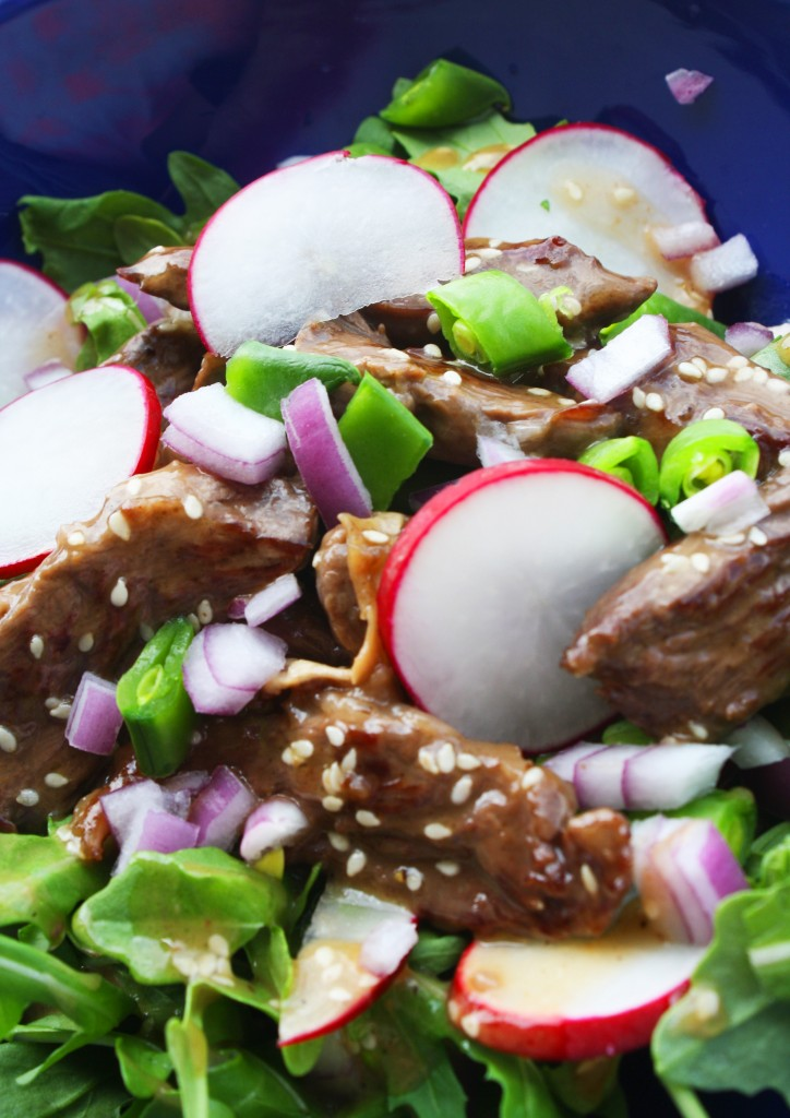 Today's new recipe, Sesame Ginger Steak Salad, comes from our Paleo ...