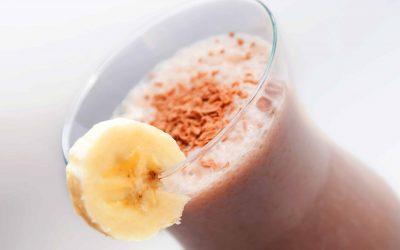 Banana Chocolate Almond Smoothie