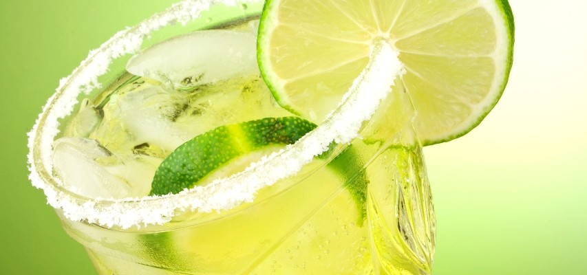 Lime cocktail drink