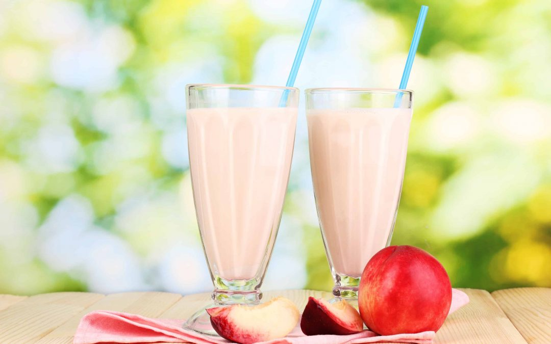Perfectly Peachy Coconut Smoothie