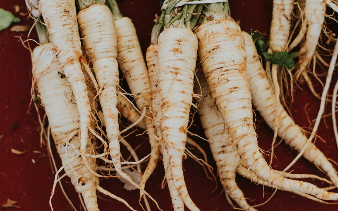 Treat yourself to a plate of parsnips