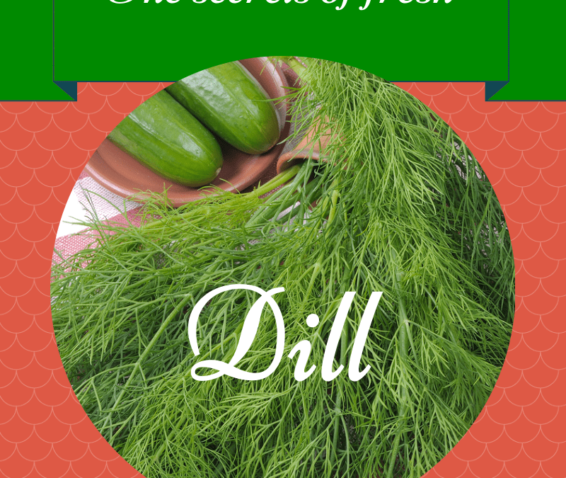 Just for the dill of it