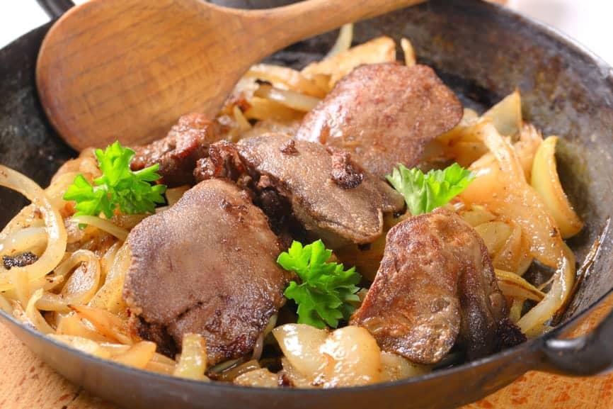 Liver And Onions Recipe — Dishmaps