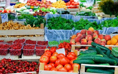 46 Fresh Market Foods for August