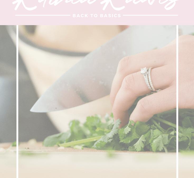 Back To Basics Kitchen: Back To Basics: Kitchen Knives