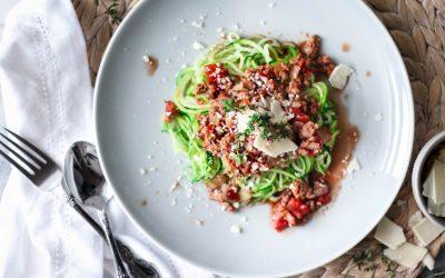 Hot Melt (keto-approved) Spaghetti