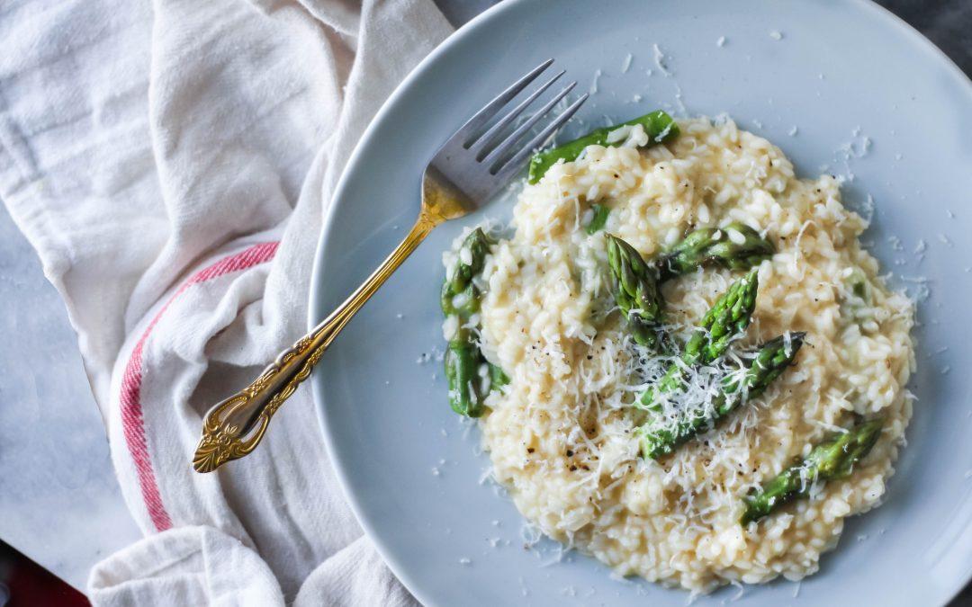 Parmesan Asparagus Risotto