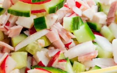 Chicken Radish Salad
