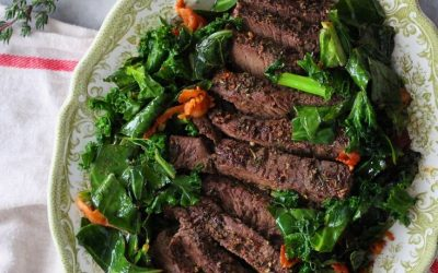 Slow Roasted Beef and Crispy Greens