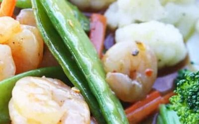 Shrimp and Snap Pea Stir Fry