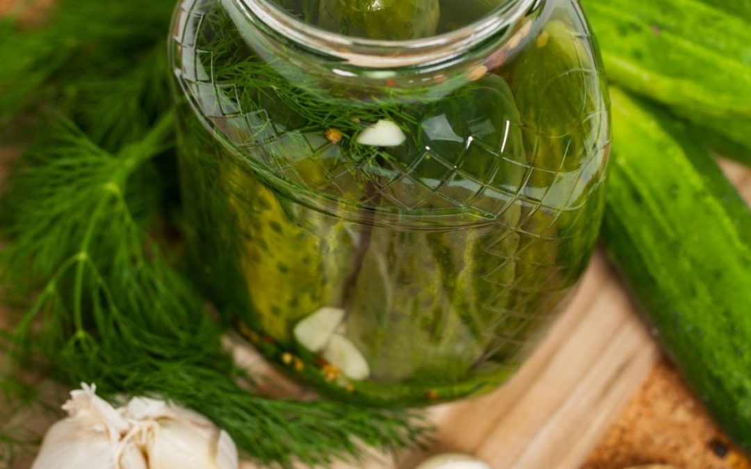 Grandma's Famous Dill Pickles