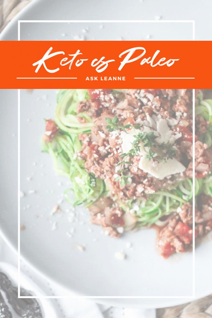 Ask Leanne_ Keto vs Paleo