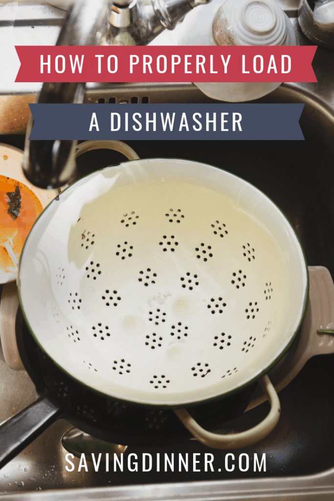 How to Properly Load a Dishwasher   Saving Dinner.com