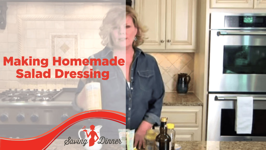 Homemade Salad Dressing Recipe and How To