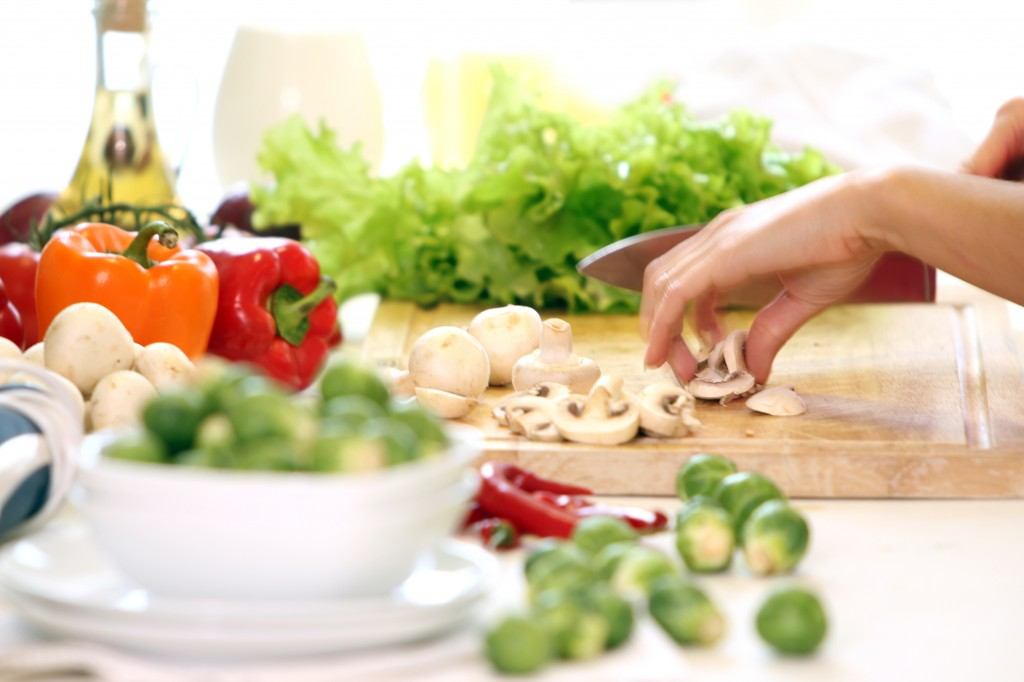 Healthly food on the table