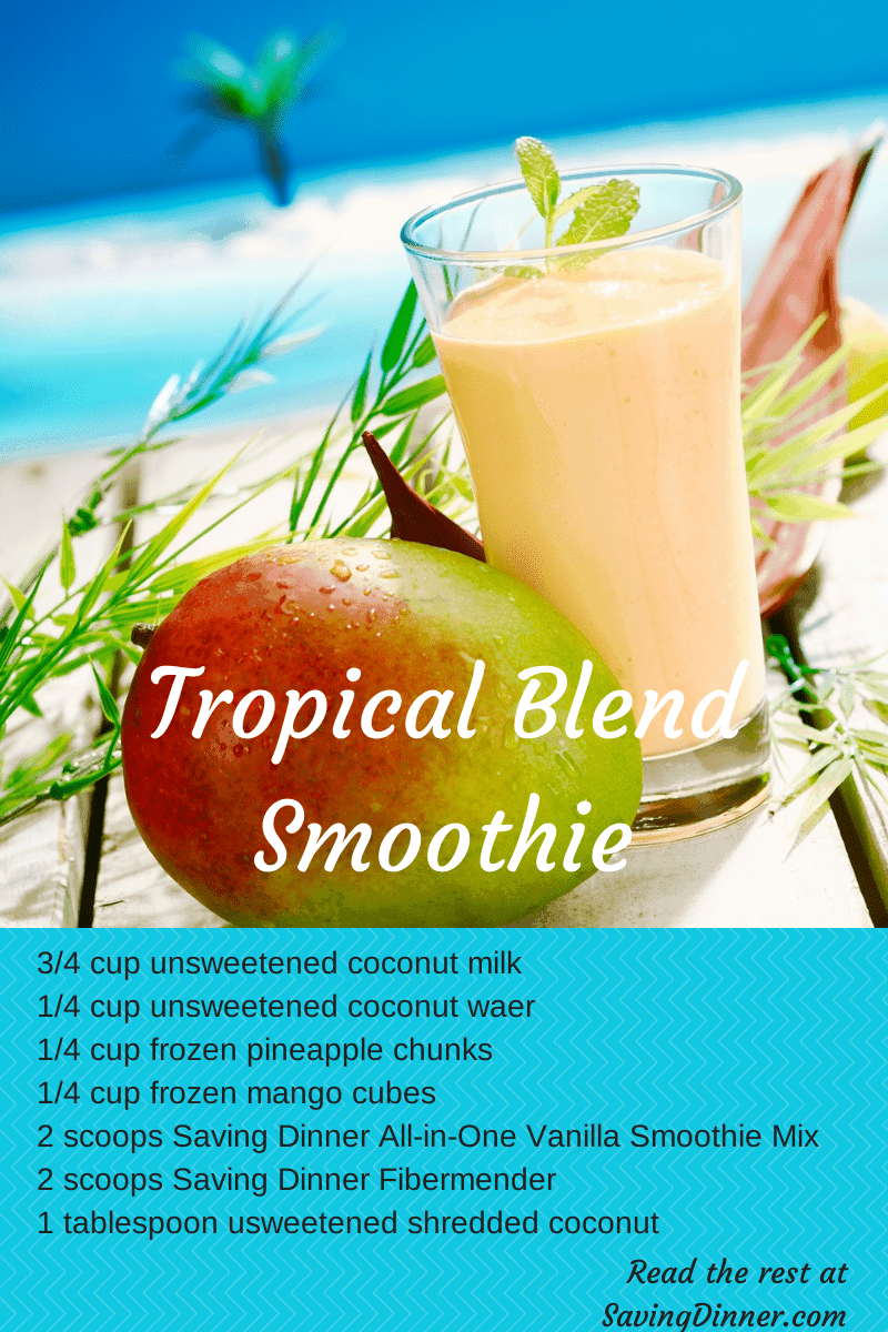 Tropical Blend Smoothie
