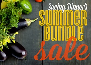 Saving Dinner's Summer Bundle sale
