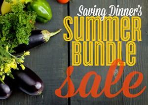 Saving Dinner's Summer Bundle sale